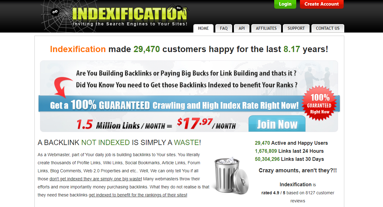 indexification quickly backlink indexer