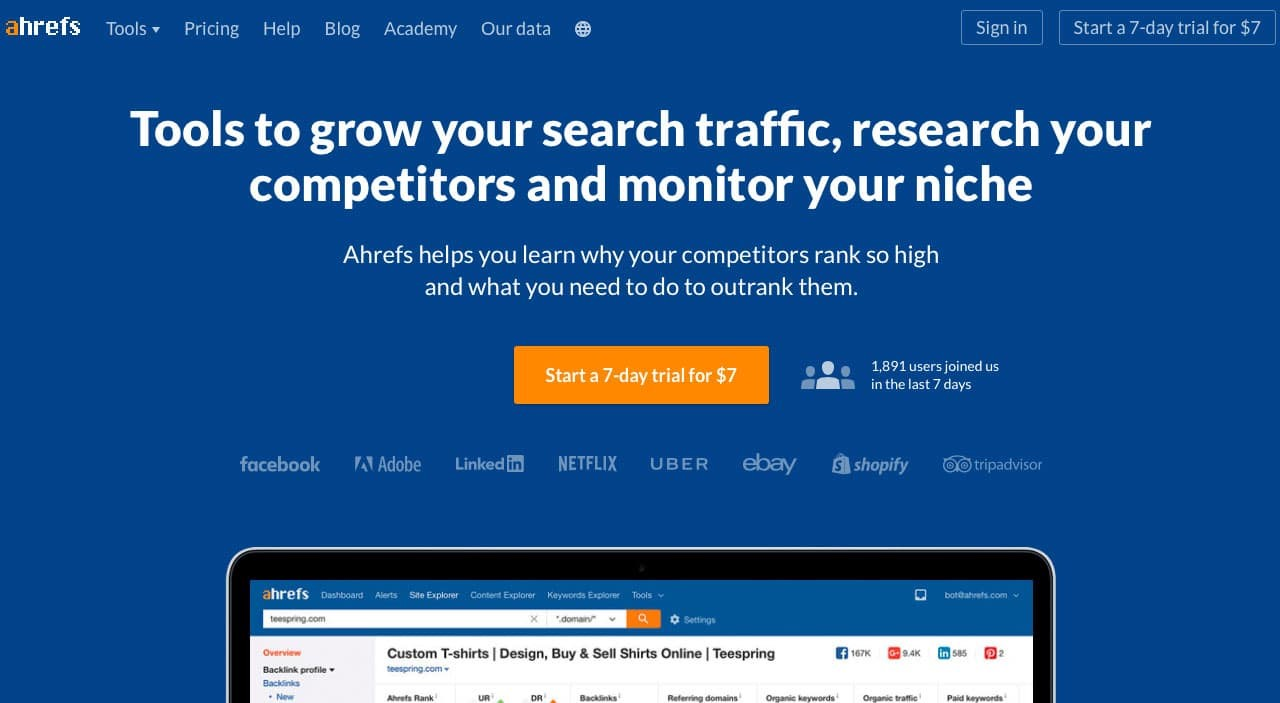 ahrefs group buy: tools to grow search traffic