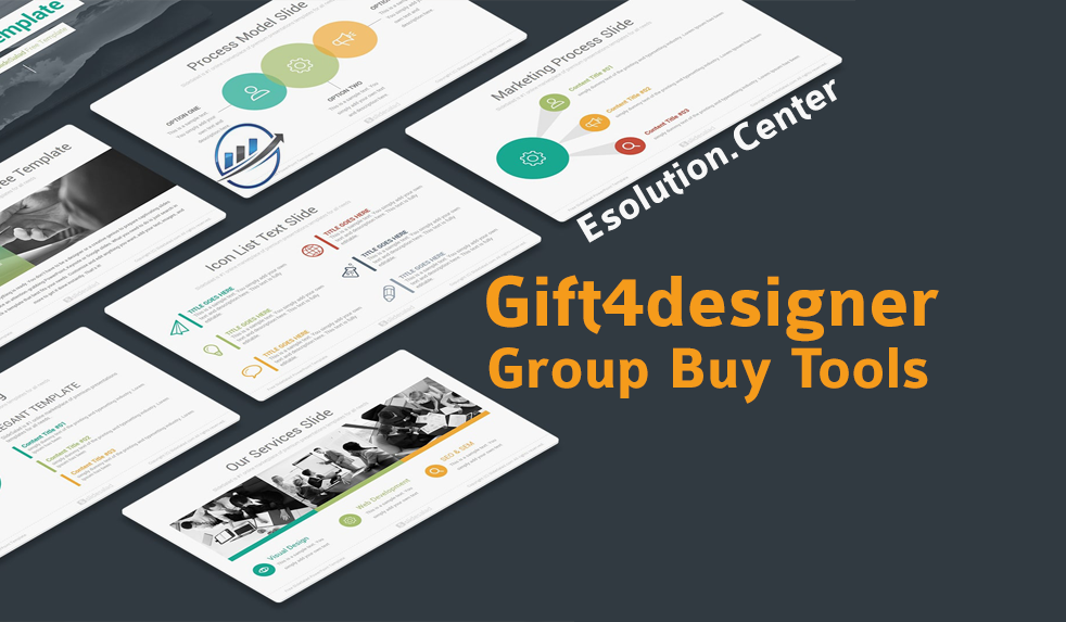 How to Get Eye-Catching Design Using Gift4designer Group Buy Tools?